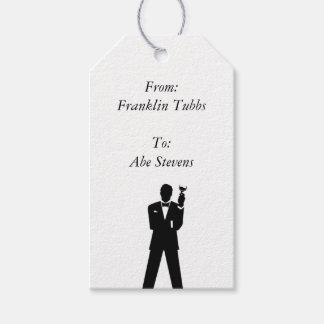 Etiqueta Para Presente Tag do presente do padrinho de casamento
