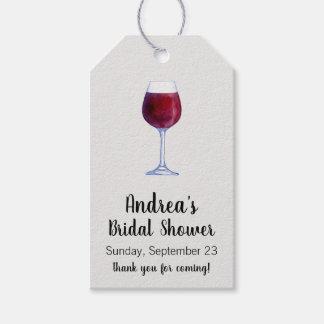 Etiqueta Para Presente Tag do presente do vinho ou Tag do favor da