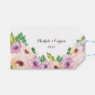 Etiqueta Para Presente Tag do presente do Wildflower
