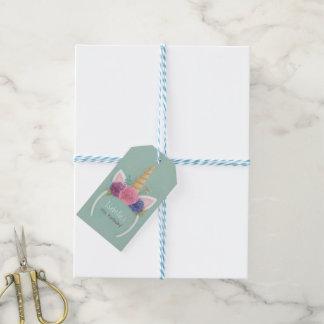 Etiqueta Para Presente Tag florais do presente da festa de aniversario de
