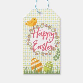 Etiqueta Para Presente Tag florais personalizados do presente da páscoa