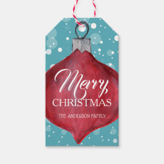 Etiqueta Para Presente Tag lunático e do divertimento do Natal do