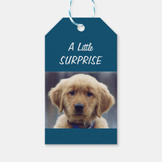 Etiqueta Para Presente Tag pequenos do presente do filhote de cachorro do
