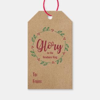 Etiqueta Para Presente Tag religiosos personalizados do Natal