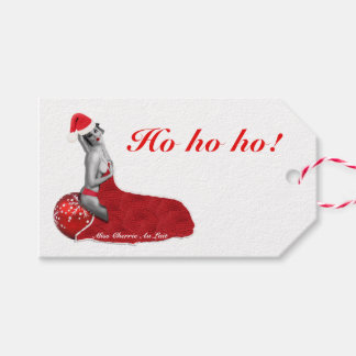 """Etiqueta Para Presente Tag """"sexy"""" retros do presente do Natal da arte da"""
