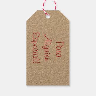 Etiqueta Para Presente Tag simples do presente