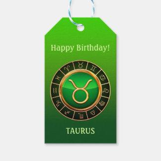 Etiqueta Para Presente Taurus - o sinal do zodíaco de Bull