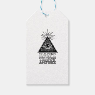 Etiqueta Para Presente Teoria de conspiração