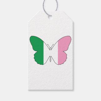 Etiqueta Para Presente Terra Nova Buttlerfly Tricolour