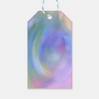 Etiqueta Para Presente Teste padrão colorido brilhante do abstrato do