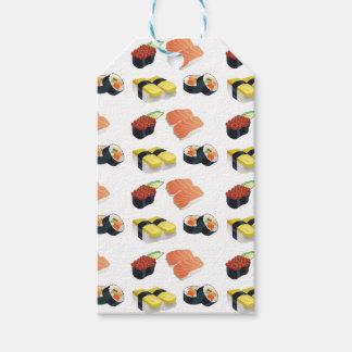 Etiqueta Para Presente Teste padrão do sushi