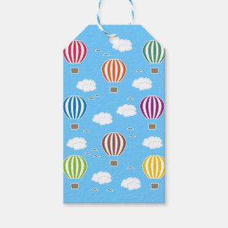 Etiqueta Para Presente Teste padrão dos balões de ar