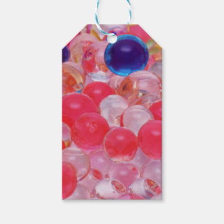Etiqueta Para Presente textura das bolas da água