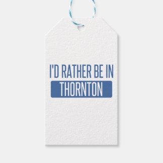 Etiqueta Para Presente Thornton
