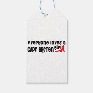 Etiqueta Para Presente Todos ama um bretão do cabo