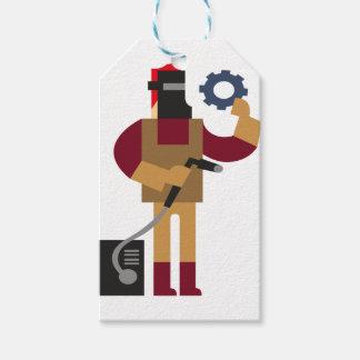Etiqueta Para Presente Trabalhador do metal
