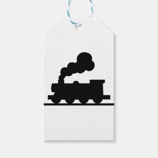 Etiqueta Para Presente Trem de estrada de ferro