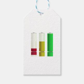 Etiqueta Para Presente Três baterias