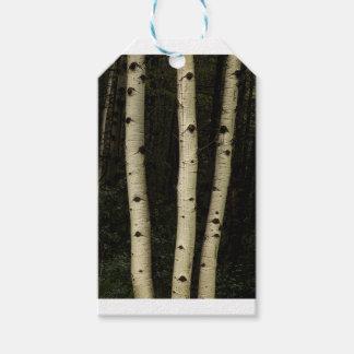 Etiqueta Para Presente Três colunas da floresta