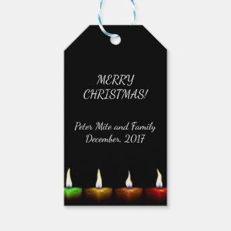 Etiqueta Para Presente Velas do Natal