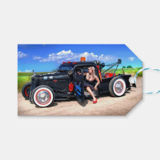Etiqueta Para Presente Velocidades que rebocam o Pin do caminhão de Rod