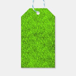 Etiqueta Para Presente verde abstrato