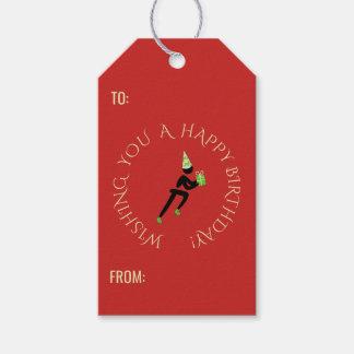 Etiqueta Para Presente Vermelho feito sob encomenda do texto do atleta do
