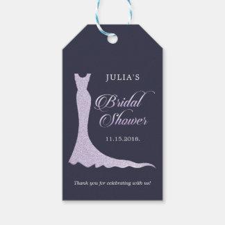 Etiqueta Para Presente Vestido de casamento Glittery