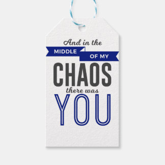 Etiqueta Para Presente Você no caos