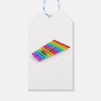 Etiqueta Para Presente Xilofone colorido