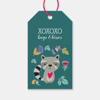 Etiqueta Para Presente XO. Abraça & beijos. Tag engraçados do presente do