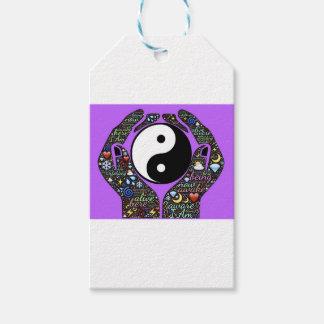 Etiqueta Para Presente Yin, Yang