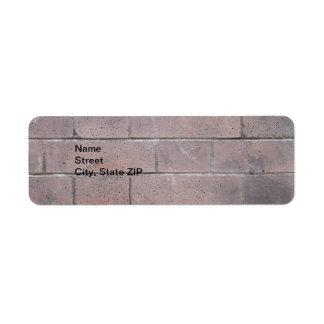 Etiqueta Parede de tijolo