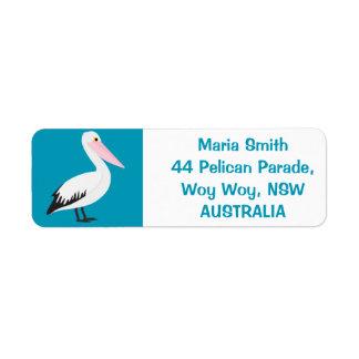 Etiqueta Pelicano