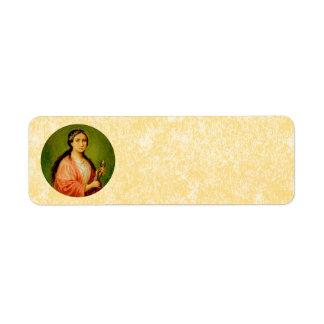 Etiqueta Pergaminho do St. Apollonia (BLA 001)