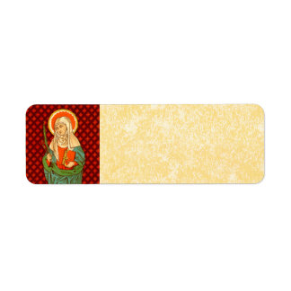 Etiqueta Pergaminho do St. Apollonia (VVP 001)
