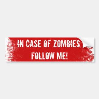 Etiqueta perita do zombi adesivos