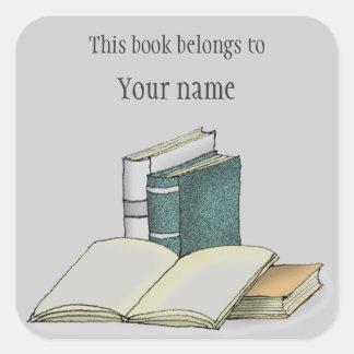 Etiqueta personalizada do Bookplate