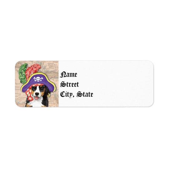Etiqueta Pirata de Berner