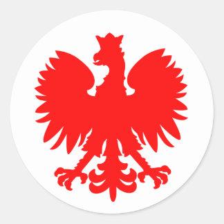 Etiqueta polonesa de Eagle