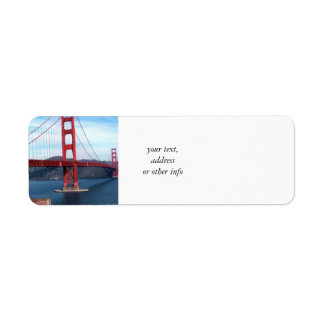 Etiqueta Ponte de San Francisco Bay