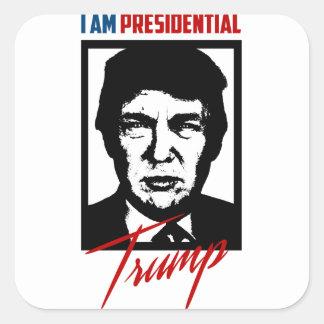 Etiqueta presidencial de Donald Trump