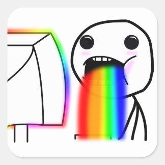Etiqueta Puking do arco-íris