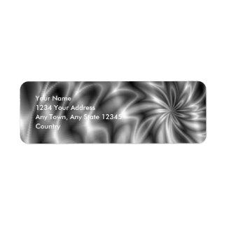 Etiqueta Redemoinho de prata
