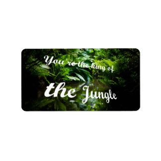 Etiqueta Rei da selva