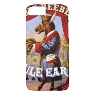 Etiqueta retro do tabaco b 1868 capa iPhone 8/ 7