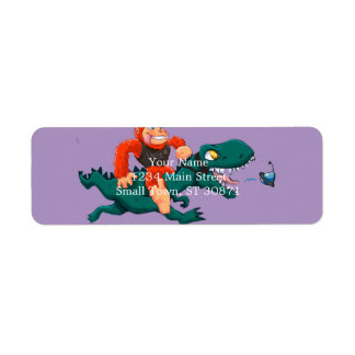 Etiqueta Rex-desenhos animados bigfoot dos bigfoot-desenhos