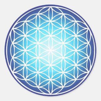 Etiqueta sagrado da geometria