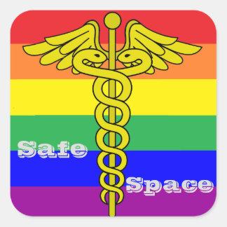 Etiqueta segura do espaço de LGBTQ