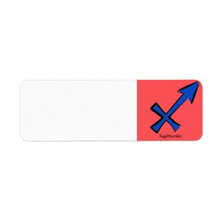 Etiqueta Símbolo do Sagitário